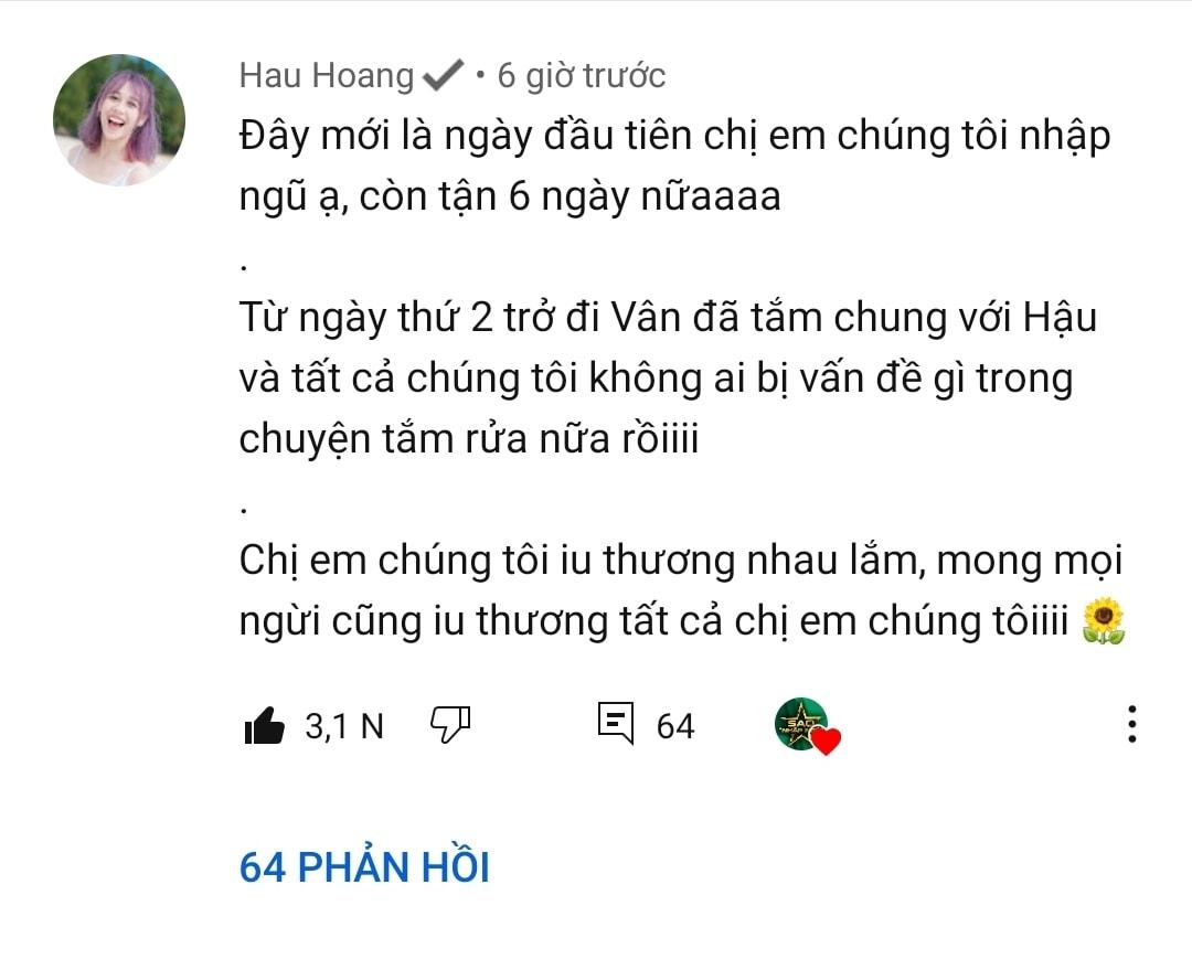 Khánh Vân bị cư dân mạng chỉ trích, hội chị em Sao nhập ngũ lập tức lên tiếng bênh vực-8