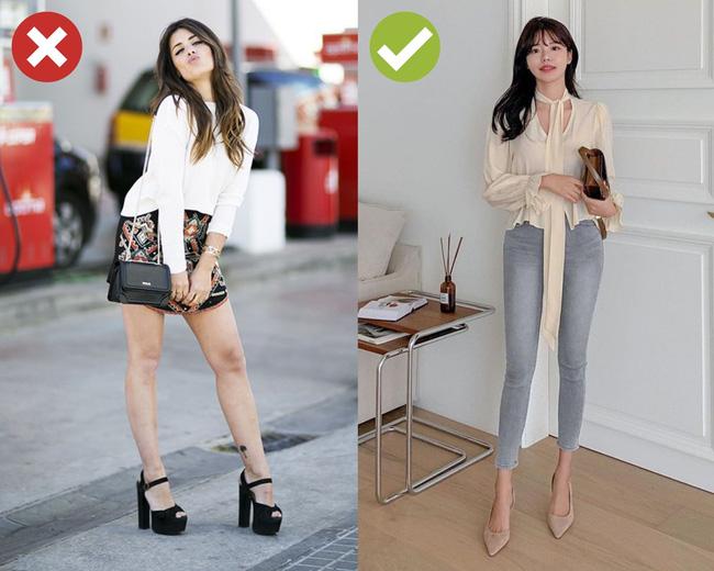 4 kiểu giày cực dễ dìm dáng, hội chân dài cũng không tránh khỏi bị ăn bớt vài phân chiều cao-2