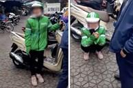 Grab xác minh thông tin nữ tài xế ôm mặt khóc nức nở sau khi bị lừa mất điện thoại ở Hà Nội