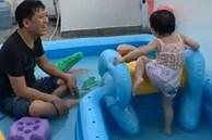 Nhã Phương tiết lộ khoảnh khắc Trường Giang chơi đùa với con gái cực đáng yêu