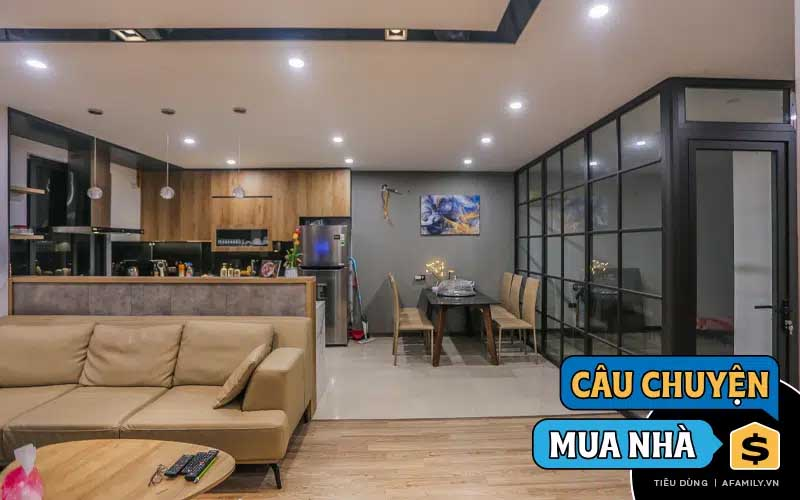 Sau 3 năm phấn đấu tiết kiệm, cặp vợ chồng trẻ ở Hà Nội đã sở hữu căn hộ 2,5 tỷ ở khu đất vàng tại Thủ đô-1