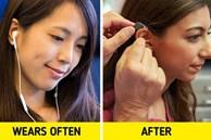 Điều gì sẽ xảy ra với cơ thể nếu bạn đeo tai nghe quá lâu?