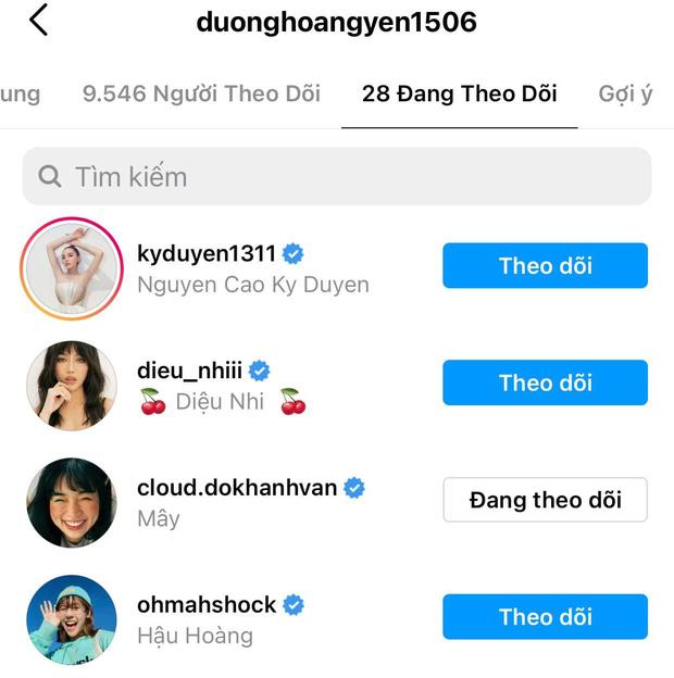 Khánh Vân chỉ follow duy nhất 2 người trong hội chị em Sao Nhập Ngũ 2020 trên Instagram-5