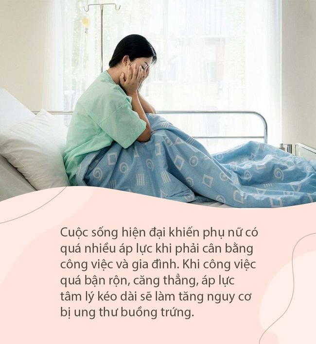 2 chị em chưa lập gia đình nhưng đã mắc ung thư buồng trứng, nguyên nhân có thể là do những thói quen sống này-2