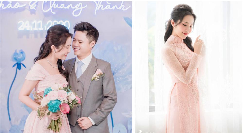 Primmy Trương nhá hàng ảnh cưới, zoom cận chiếc bụng phẳng lì giữa tin đồn mang thai-3