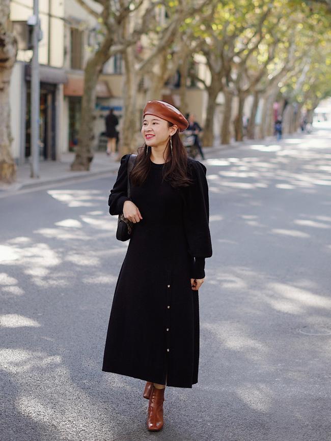 Street style trước thềm đi đón Giao thừa của các quý cô Châu Á: Dù trời lạnh vẫn mặc đẹp bất chấp-14