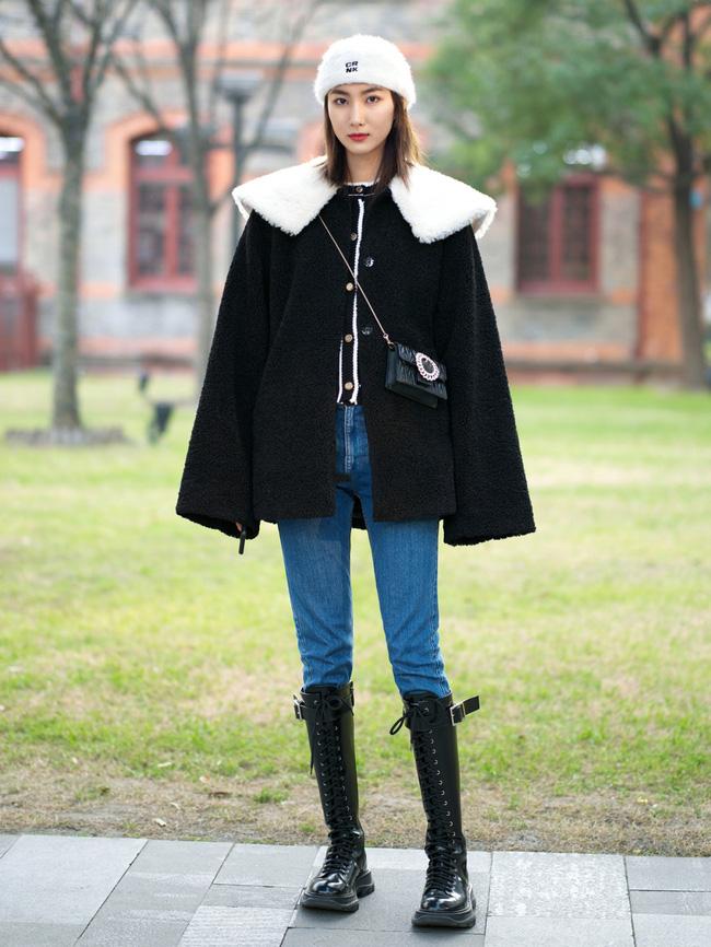 Street style trước thềm đi đón Giao thừa của các quý cô Châu Á: Dù trời lạnh vẫn mặc đẹp bất chấp-2