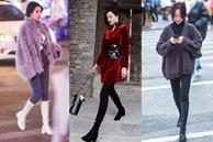 Street style trước thềm đi đón Giao thừa của các quý cô Châu Á: Dù trời lạnh vẫn mặc đẹp bất chấp