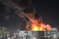 Bước qua năm mới được hơn 20 phút, Hàn Quốc đã ghi nhận vụ hỏa hoạn dữ dội xảy ra ở trường đại học