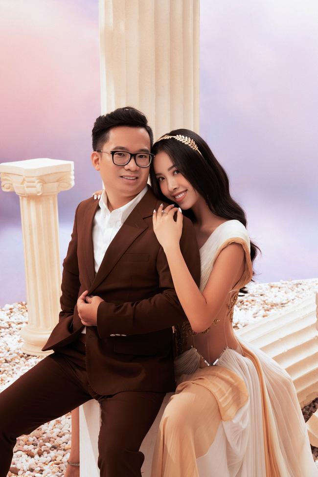 Á hậu Thúy An chính thức tung ảnh cưới đẹp như mơ cùng chồng tiến sĩ, công bố ngày lên xe hoa-8