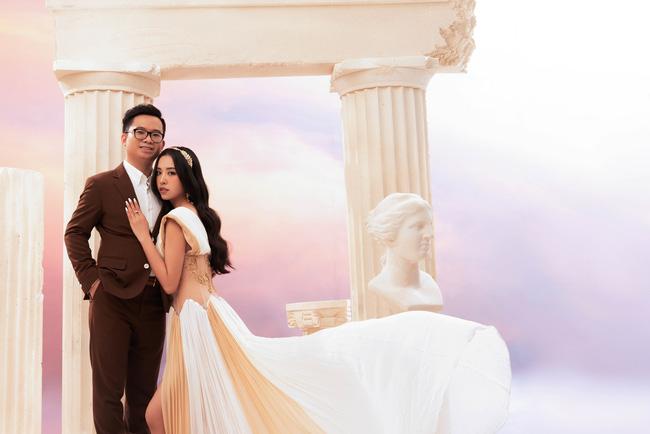 Á hậu Thúy An chính thức tung ảnh cưới đẹp như mơ cùng chồng tiến sĩ, công bố ngày lên xe hoa-9