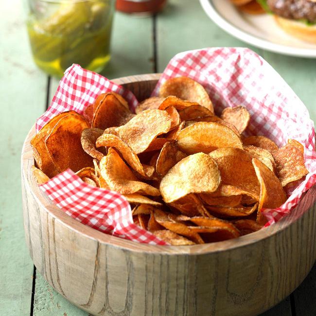 Hóa ra bí kíp làm snack khoai tây chiên phô mai giòn rụm ngon khó cưỡng lại là thứ nguyên liệu mà nhà ai cũng có-13