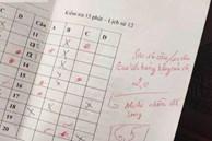 Những màn chấm điểm 'vô tiền khoáng hậu' của giáo viên: Ai cũng tưởng thầy cô thiên vị nhưng khi đọc đến lời phê mới 'ngã ngửa'
