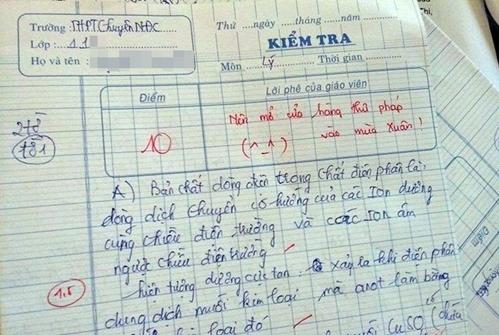 Những màn chấm điểm vô tiền khoáng hậu của giáo viên: Ai cũng tưởng thầy cô thiên vị nhưng khi đọc đến lời phê mới ngã ngửa-3