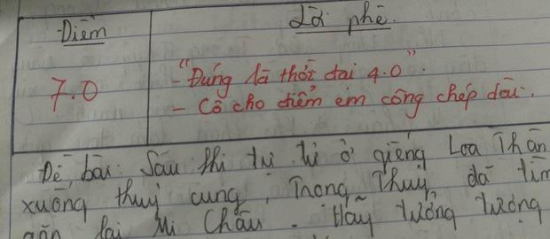 Những màn chấm điểm vô tiền khoáng hậu của giáo viên: Ai cũng tưởng thầy cô thiên vị nhưng khi đọc đến lời phê mới ngã ngửa-5
