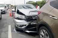 Tai nạn liên hoàn trên cao tốc TP.HCM - Dầu Giây
