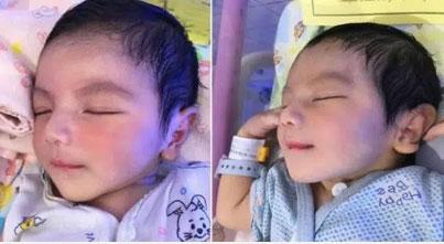 Em bé sơ sinh nổi rần rần trên mạng xã hội vì vẻ đẹp không góc chết từ khi mới chào đời, 3 năm sau dung mạo ấy vẫn khiến dân mạng xao xuyến-1