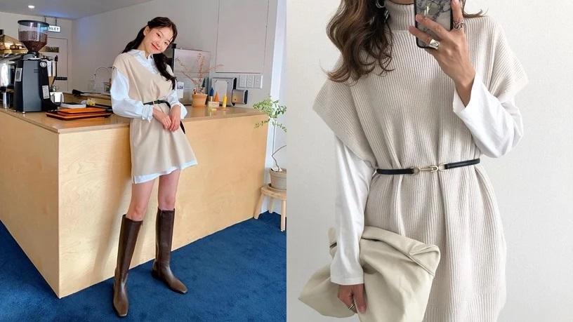 4 cách diện áo len hack dáng đỉnh cao: Body thon thả mà điểm sang chảnh cũng tăng vù vù-1