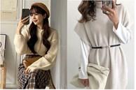4 cách diện áo len hack dáng đỉnh cao: Body thon thả mà điểm sang chảnh cũng tăng vù vù