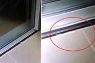Gia đình suýt mất mạng bởi một chi tiết trong khe hở của cánh cửa