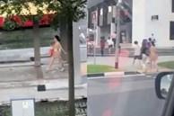 Người phụ nữ khỏa thân cầm túi xách tự tin đi khắp phố khiến dân mạng nóng mắt, hình phạt sau đó mới thật là bất ngờ