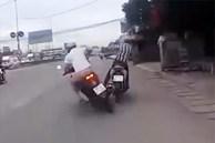 Video: Kịch tính màn truy bắt trộm xe máy tại Đồng Nai