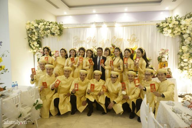 Dàn phù dâu, phù rể toàn sao Việt trong lễ ăn hỏi của NSND Công Lý-2