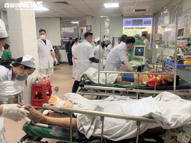 Danh tính 11 công nhân thương vong trong vụ rơi thang tời ở Nghệ An-1