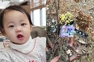 Nơi an nghỉ của bé gái 16 tháng tuổi bị bố mẹ nuôi bạo hành tới chết: Sơ sài đến phẫn nộ với vỏn vẹn khung ảnh 60 nghìn đồng