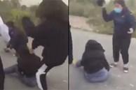 Hà Nội: Mâu thuẫn cá nhân, cô gái trẻ đạp, đá liên tiếp vào đầu thiếu nữ khiến dư luận phẫn nộ