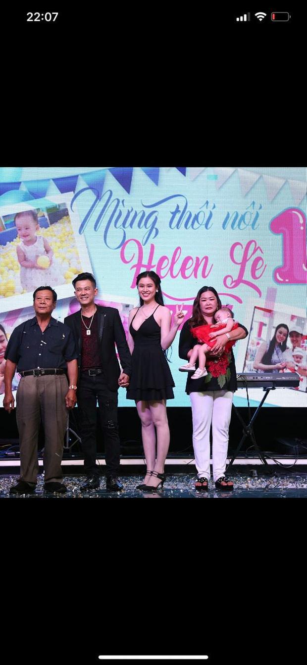 Không chấp nhận, bố ruột vẫn xuất hiện trong lễ ăn hỏi của Vân Quang Long với Linh Lan và tiệc thôi nôi cháu gái-1