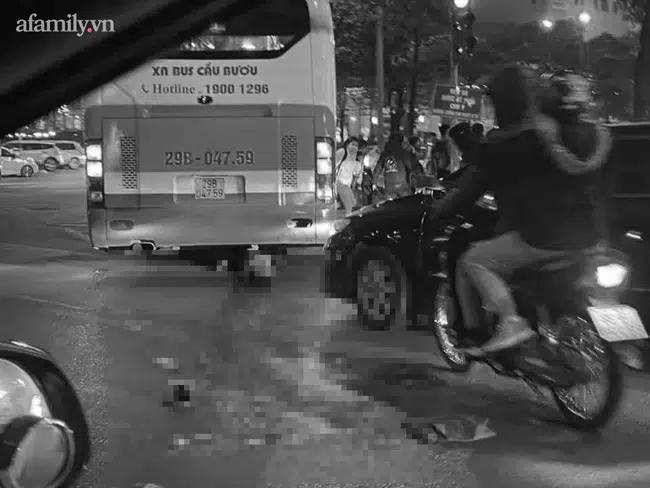 Vụ xe buýt tông kinh hoàng cụ bà 75 tuổi ở Hà Nội: Con trai đau đớn từ quê nhà ra đón mẹ, khẳng định cụ không phải là người bán hàng rong-1