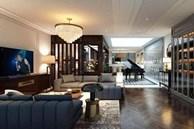 Biệt thự triệu đô của Tuấn Hưng: Thiết kế đậm chất châu Âu, sang chảnh từ phòng khách tới tận ban công