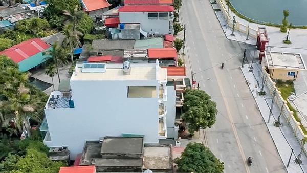 Cận cảnh căn nhà 4 tỷ như cung điện trắng của Youtuber NTN giữa lòng thành phố Thái Bình-2