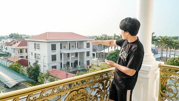 Cận cảnh căn nhà 4 tỷ như cung điện trắng của Youtuber NTN giữa lòng thành phố Thái Bình-14