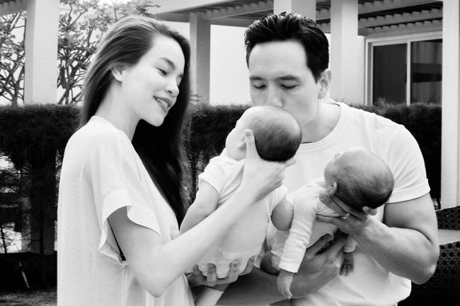 Hồ Ngọc Hà tung loạt ảnh gia đình 5 người nhưng ánh mắt của Subeo và Kim Lý lại được chú ý nhất-4