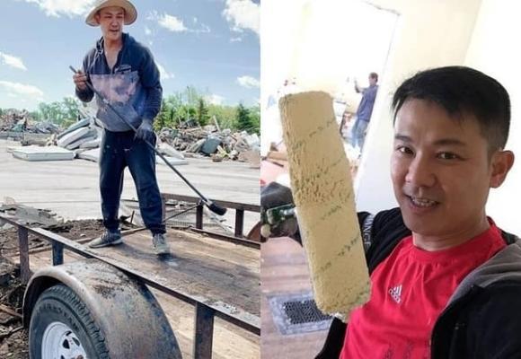 Những hình ảnh xót xa của cố ca sĩ Vân Quang Long: Làm lụng vất vả để kiếm thêm thu nhập lo cho gia đình-1