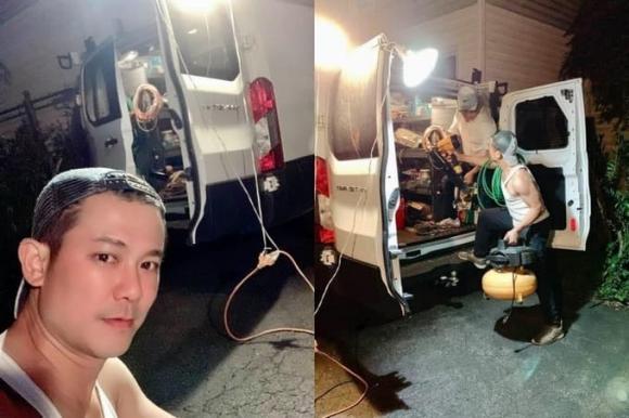 Những hình ảnh xót xa của cố ca sĩ Vân Quang Long: Làm lụng vất vả để kiếm thêm thu nhập lo cho gia đình-3