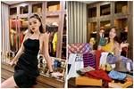Căn hộ cao cấp màu trắng trang nhã của Phạm Quỳnh Anh: Nhiều đồ nội thất thông minh, phòng để đồ hiệu khiêm tốn-11