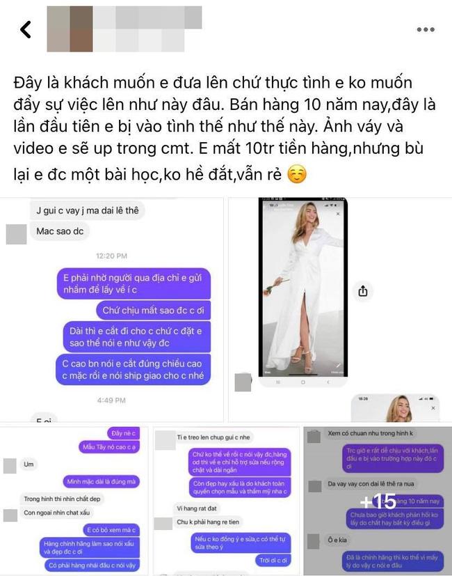 Mẹ Phạm Hương bị tố bom hàng 10 triệu đồng, thái độ thách thức người bán bóc phốt lên mạng xã hội?-1