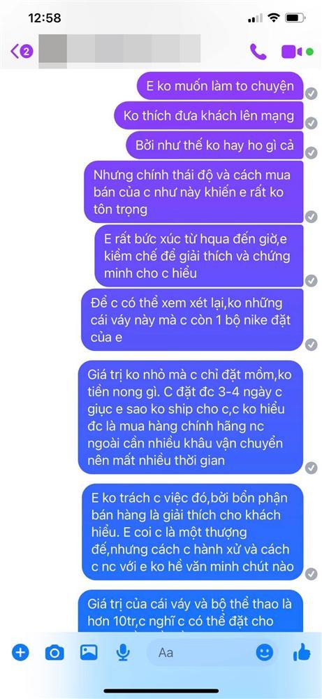 Mẹ Phạm Hương bị tố bom hàng 10 triệu đồng, thái độ thách thức người bán bóc phốt lên mạng xã hội?-4