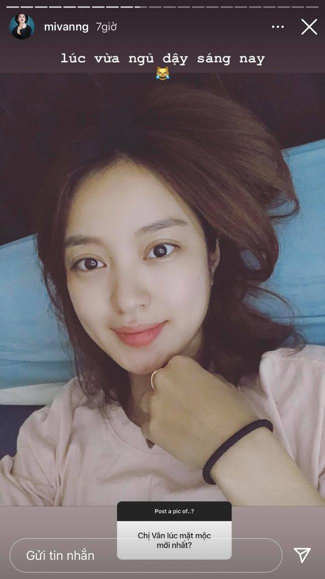 Mi Vân gây choáng váng khi đăng ảnh mộc 100% lúc vừa ngủ dậy, quả không hổ danh nhan sắc hot girl đời đầu đình đám-1