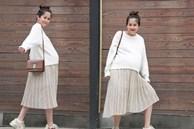 An Nguy khoe nhan sắc cuốn hút khi mang thai con đầu lòng, ai nghĩ Vlogger đã 34 tuổi rồi!