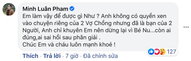 Bạn thân tố Hoàng Anh vũ phu với vợ khi còn chung sống, tiết lộ phản ứng của Quỳnh Như khi được Minh Luân khuyên nhủ-2