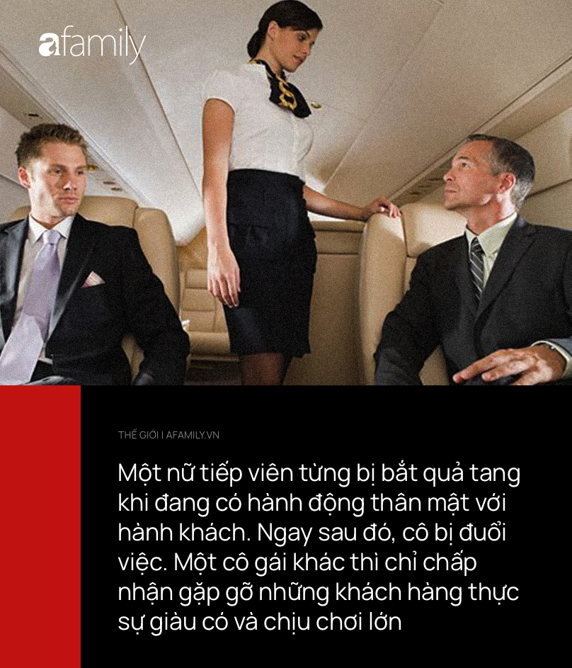 Mảng tối rùng mình phía sau nghề tiếp viên hàng không hào nhoáng: Mua vui cho khách hạng sang ngay trên máy bay, quan hệ với phi công còn viết lại nhật ký-3