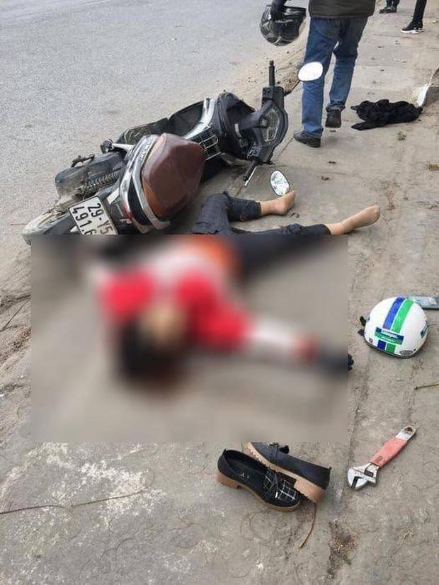 Kinh hoàng clip người phụ nữ bị truy sát tử vong trên đường, cha tức tốc chạy đến nhưng không kịp cứu con-2