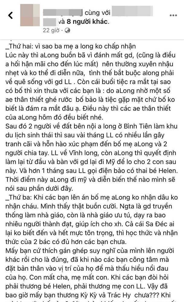 Bạn bè tiếp tục tiết lộ sự thật về mối quan hệ của vợ hai với Vân Quang Long trước khi qua đời: Không liên lạc, chỉ biết đòi tiền-4