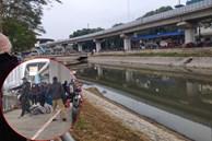 Hà Nội: Phát hiện thi thể nổi trên sông Tô Lịch rạng sáng giữa tiết trời rét buốt