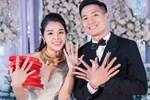 Hình ảnh đầu tiên của cặp đôi Bùi Tiến Dũng - Khánh Linh ở khách sạn tổ chức đám cưới tại Hà Nội, nhan sắc cô dâu xinh đến ngỡ ngàng-10