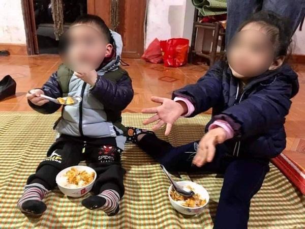 Hà Nội: 2 cháu nhỏ 3 và 5 tuổi bị bỏ rơi giữa thời tiết 10 độ kèm bức thư bố mẹ chết rồi, ai nhặt được xin nuôi hộ-1